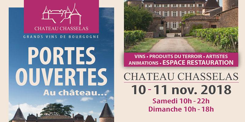 portes ouvertes au château Chasselas