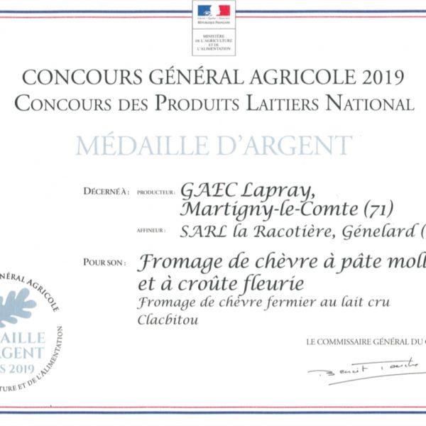 CGA 2019 clacbitou La Racotière